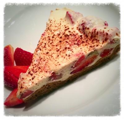 Erdbeer Mascarpone Torte Seelenschoggi Low Carb Genuss